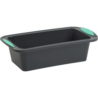 Silicone Loaf Pan Gray/Mint