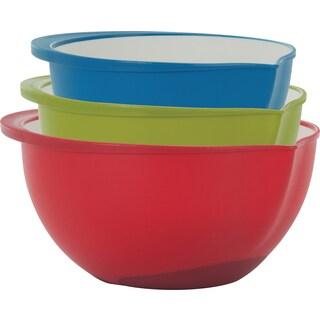 Polypropylene Mixing Bowls Set Of 3