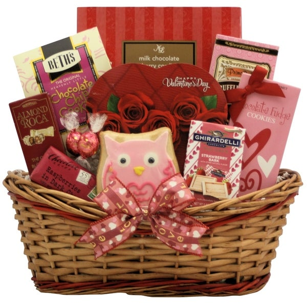 Shop Sweet Love Valentine S Day Chocolate Sweets Gift Basket
