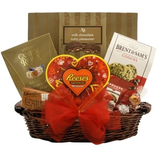 Totally Nuts Over You!: Valentine's Day Gourmet Gift Basket