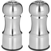 Stainless Steel Salt & Pepper Set 4.5""