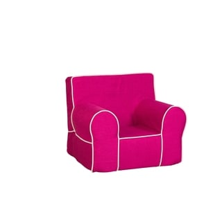 Leffler Home All Mine Personalized Kids Chair in Urban Raspberry