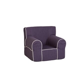 Leffler Home All Mine Personalized Kids Chair in Stallion Purple