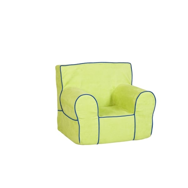 Leffler Home All Mine Personalized Kids Chair In Montana Sour Apple