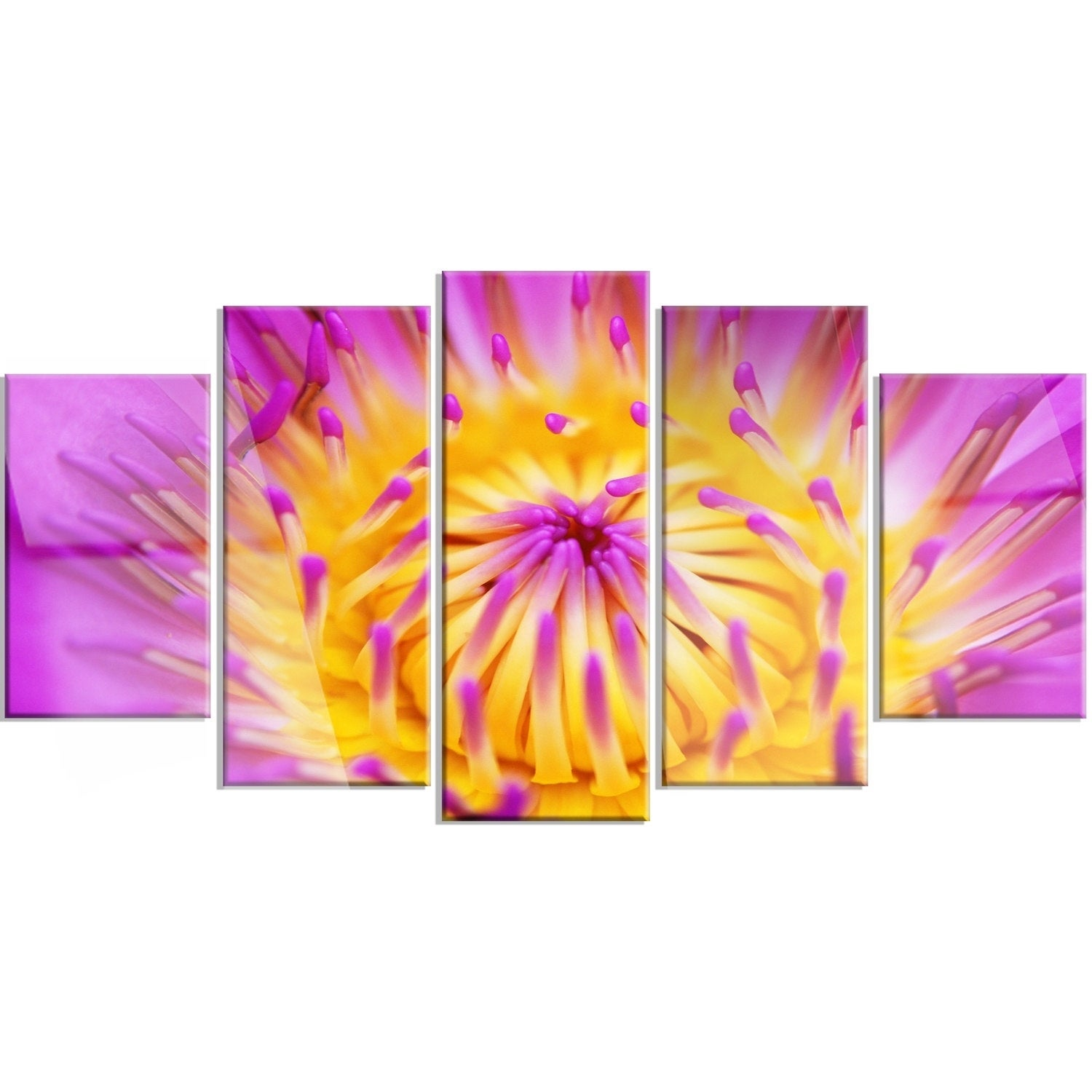 Contemporary Purple Metal Wall Art Frieze - Art & Wall Decor ...