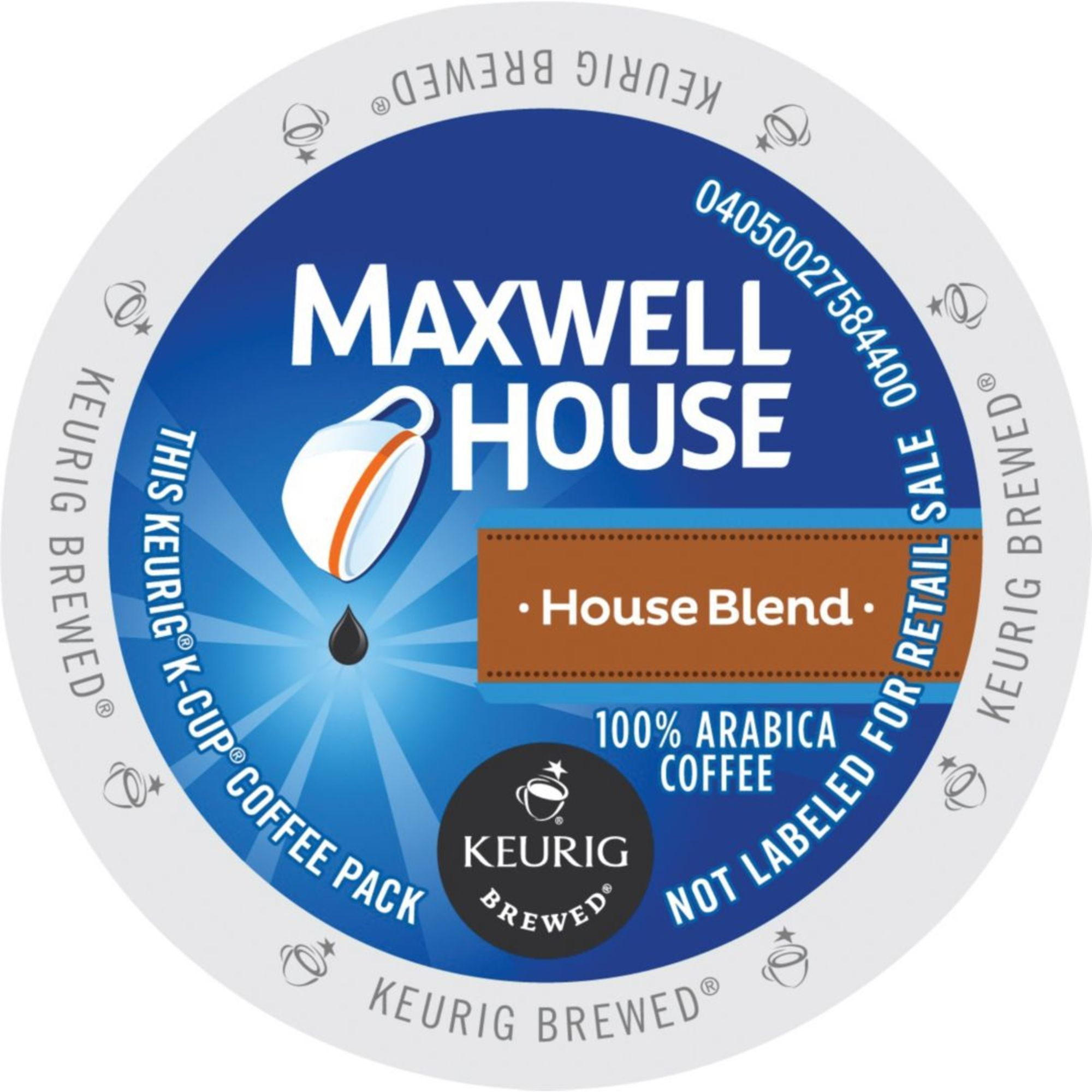 Kraft Maxwell House House Blend Single Serve K-Cups 96 Co...