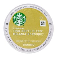 Starbucks True North Coffee (Previously Known as Veranda Blend), K-Cup Portion Pack for Keurig Brewers 24 Count