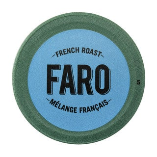Faro French Roast, Extra Dark Roast Coffee, 100% Compostable, Fair Trade Keurig Compatible Single Serve Cups 12 Count