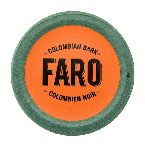 Faro Colombian Dark Roast Coffee, 100% Compostible, Rainforest Alliance Single Serve Cups for Keurig Brewers 48 Count