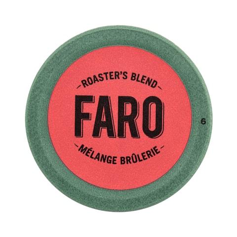 Faro Roaster's Blend, Medium Roast Coffee, 100% Compostable Rainforest Alliance Single Serve Cups for Keurig Brewers 48 Count