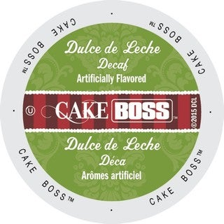 Cake Boss Coffee Dulce De Leche Decaf, Single Serve Cups for Keurig Brewers 96 Count