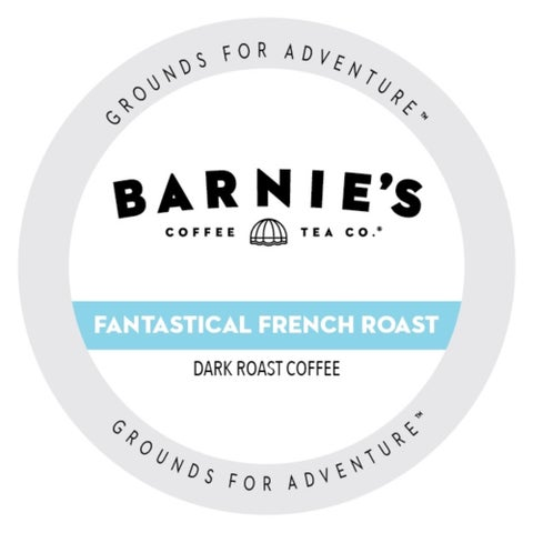 Barnie's Coffee Kitchen French Roast, Single Serve Cups for Keurig Brewers 24 Count