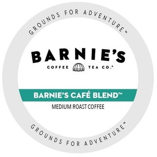 Barnie's Coffee Kitchen Barnie's Blend Single Serve Cups for Keurig Brewers 96 Count