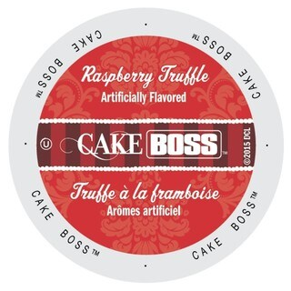 Cake Boss Coffee Raspberry Truffle, Single Serve Cups for Keurig Brewers 24 Count