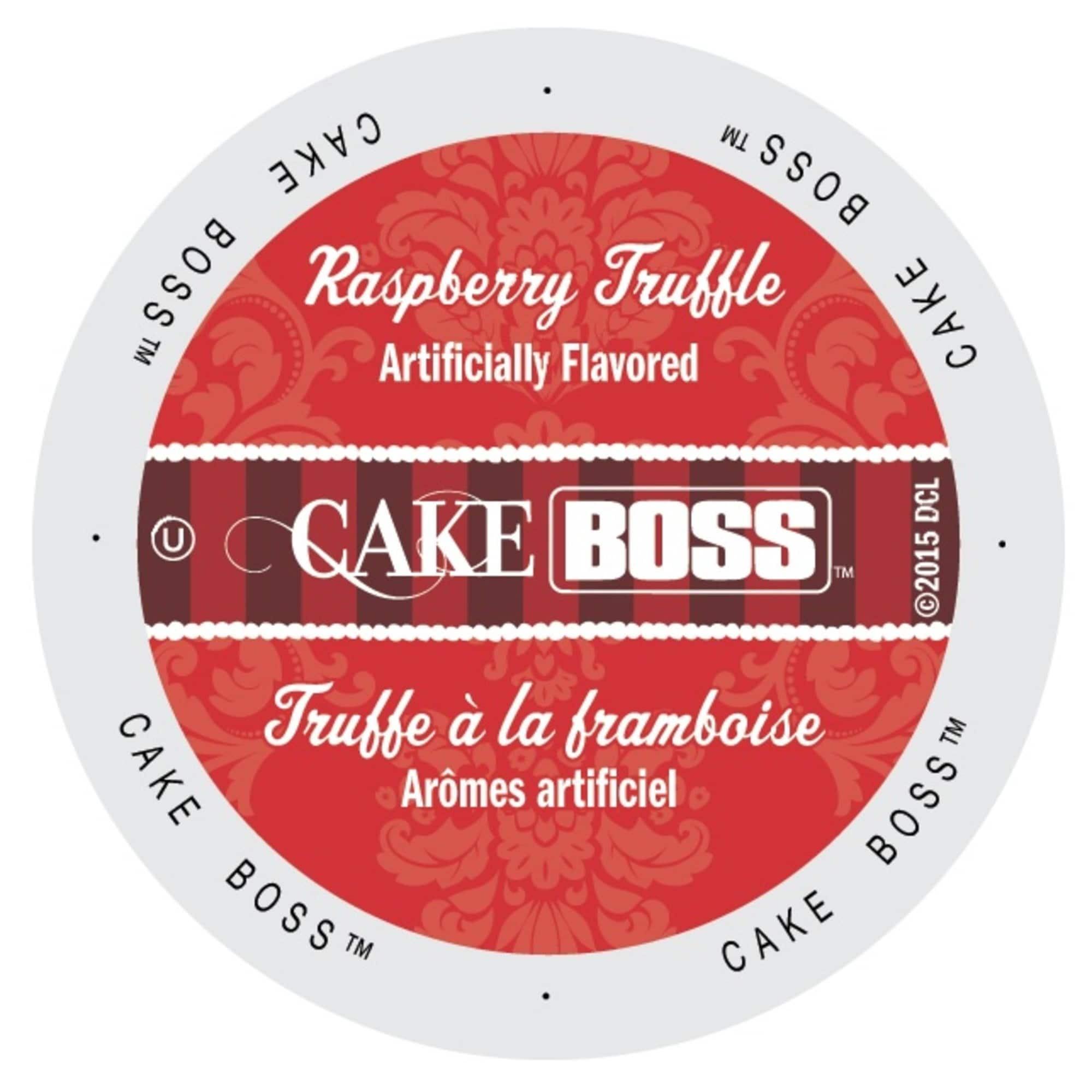 Cake Boss Coffee Raspberry Truffle, Single Serve Cups for...