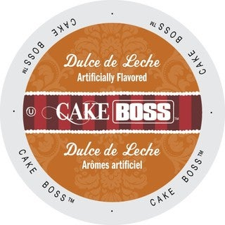 Cake Boss Coffee Dulce De Leche, Single Serve Cups for Keurig K-Cup Brewers 24 Count