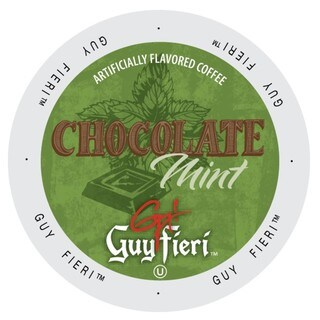 Guy Fieri Coffee Chocolate Mint, Single Serve Cups for Keurig K-Cup Brewers 96 Count
