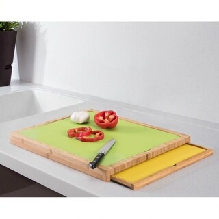 Wood Cutting board with Cutting Mats