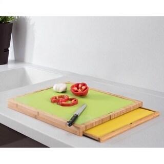 Wood Cutting board with Cutting Mats