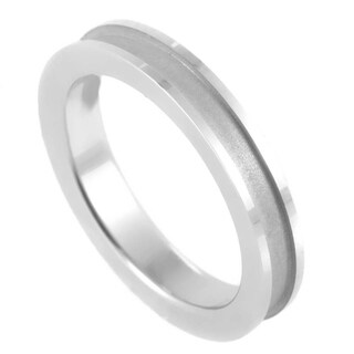 Mi Princesa Women's 18K White Gold Wedding Band DA10926-02