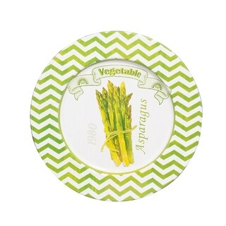 "Set of 4, 13"" Abington Asparagus Plates"