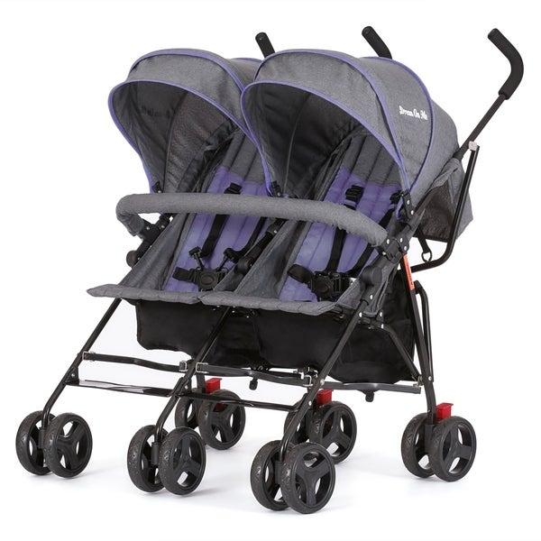 Shop Dream On Me, Volgo Twin Umbrella Stroller - Free ...