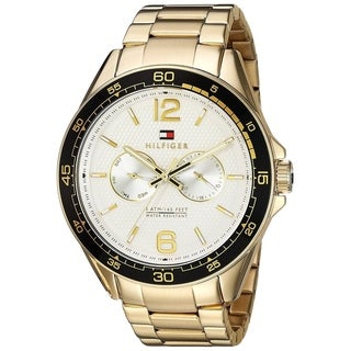 Tommy Hilfiger Gold-Tone Mens Watch 1791365