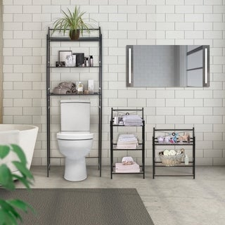 SorbusBathroomStorage Shelf   Freestanding Shelves ForBath Essentials,  Planters, Books, And Much More