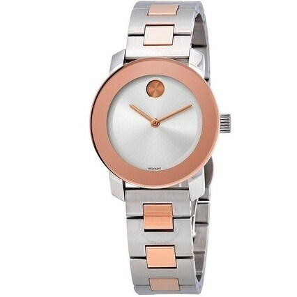 Movado Bold Two Tone Ladies Watch 3600464, Multi, Size On...