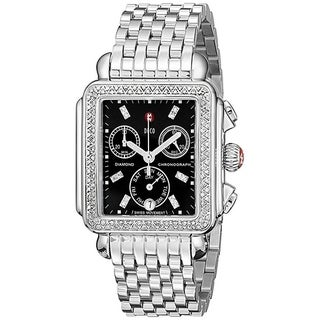 Michele Signature Deco Diamond Ladies Watch MWW06P000171