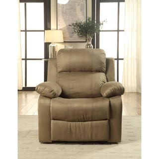 Acme Furniture Parklon Olive Microfiber Recliner