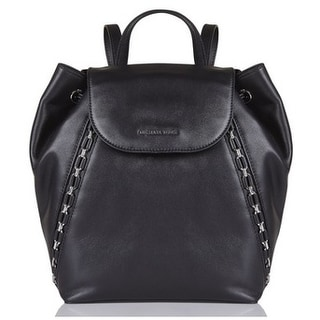 77000f93d9d7 Shop Michael Kors Sadie Medium Backpack - Black - 30F7SAEB2L-001 - Free  Shipping Today - Overstock - 19786524