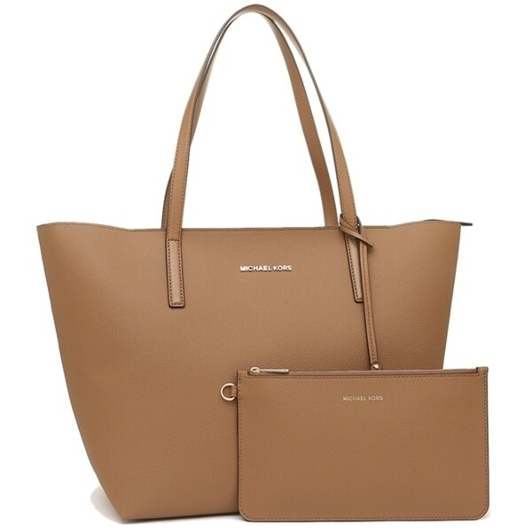cc23ee2d24c7 Shop Michael Kors Hayley Large Coated Canvas Tote - Acorn - 30S7GH3T7B-541  - Free Shipping Today - Overstock - 19786541