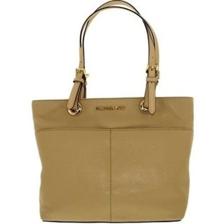 1952049e9f835 Shop Michael Kors Bedford Leather Tote - Oyster - 30H4GBFT6L-134 - Free  Shipping Today - Overstock - 19786559
