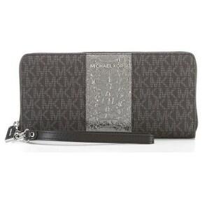 Michael Kors Signature Travel Continental Wallet - Black - 32F7SF6Z4B-001