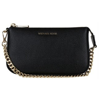 Michael Kors Jet Set Leather Chain Wallet - Black - 32F7GFDW6L-001