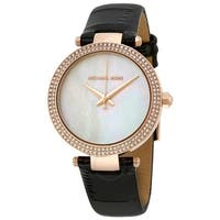 Michael Kors Mini Parker Leather Ladies Watch MK2591