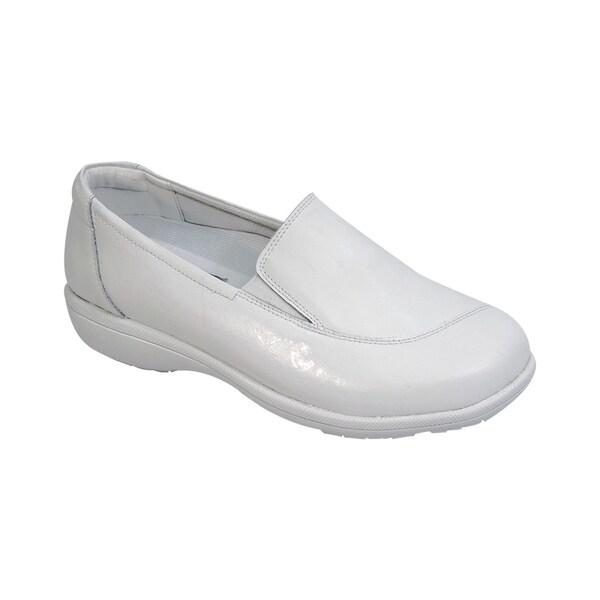 Shop 24 HOUR COMFORT Lila Women Adjustable In Extra Wide Width Step In Adjustable Loafer - - 19788332 a38418
