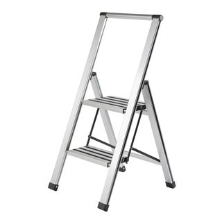 2 Step Slim Line Aluminum Ladder