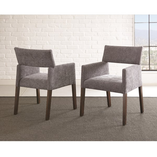 Anson Modern Side Chairs by Greyson Living (Set of 2) - 33 inches high x 24 inches wide x 25 inches deep. Opens flyout.