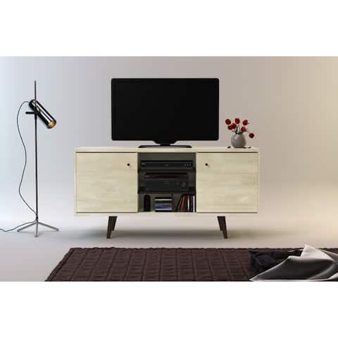 Carson Carrington Hitra Mid-century 3-shelf TV Stand - 52 inches