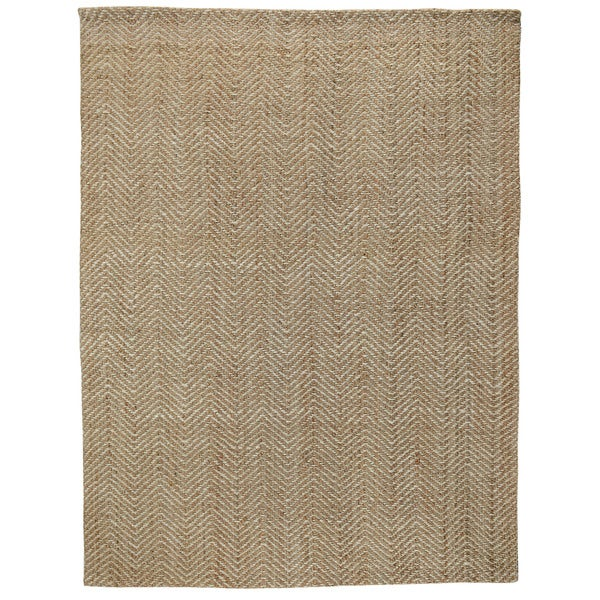 Shop Herringbone Hand Woven Jute Area Rug By Kosas Home