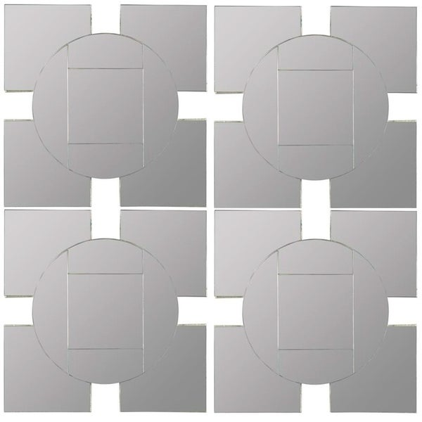 Shop Tupan Square Decorative wall Mirror- Set of 4 ...