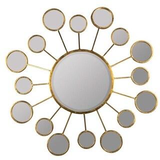 Ivy Sunburst Gold Wall Mirror