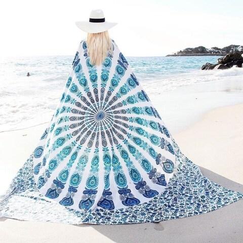 Mandala Tapestry Beach Sheet Wall Decoration Big Beautiful Versatile