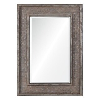 Pendle Rectangular Industrial Wall Mirror