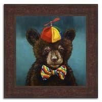 """""""Bear Fair"""" Framed Painting Print in Acrylic Finish - 24 x 24"""