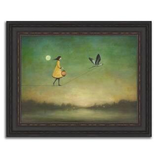 """The Orange Lantern"" Framed Painting Print in Acrylic Finish - 30 x 24"