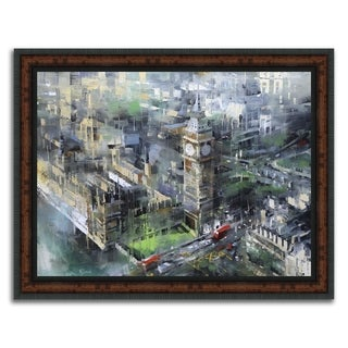 """""""Big Ben """" Framed Painting Print in Acrylic Finish"""