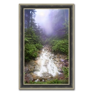 """""""Mysterious Waterfall """" Framed Photograph Print in Acrylic Finish"""